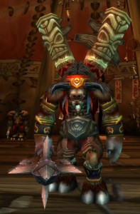 "Baine Bloodhoof ""High Chieftain of the Tauren"""